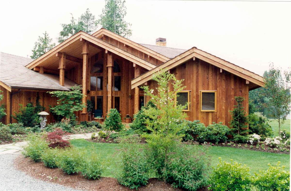Cedar Home Design Defined Pan Abode Cedar Homes