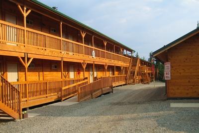 Alaska Cedar Timber Hotel