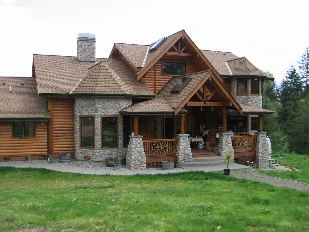 pan abode cedar homes d log home - Cedar Home Designs