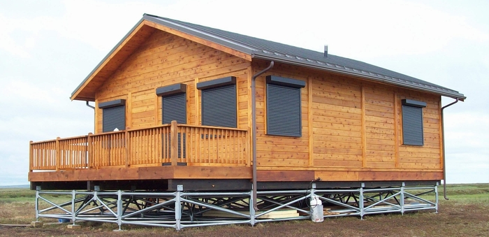 Pan Abode Cedar Homes Modified Cabin Kit #480 in Alaska