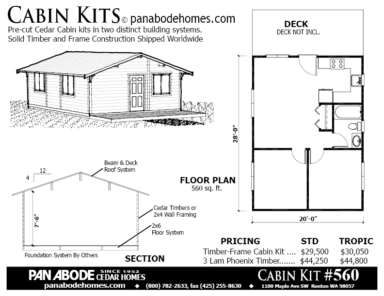 Pan Abode Cedar Homes