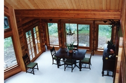 Classic Timber Homes Dining room dining room