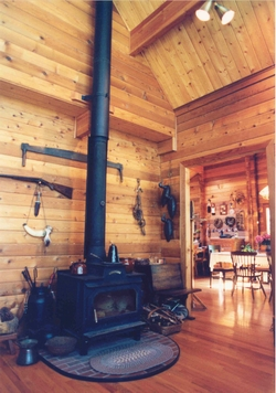 Classic Timber wood stove