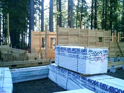 Phoenix Timber Home Under Construction