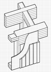 Post and Beam Isometric