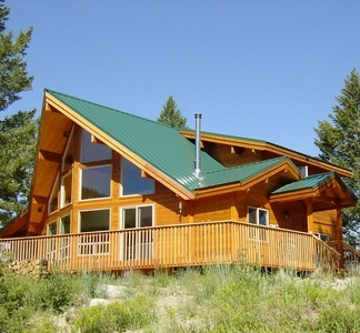 Phoenix Timber home in Montana