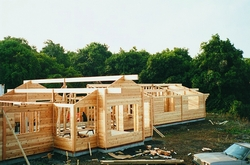Phoenix Timber Home construction.