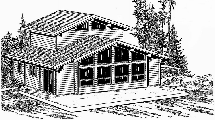 Pan Abode Cedar Country Manor Plans