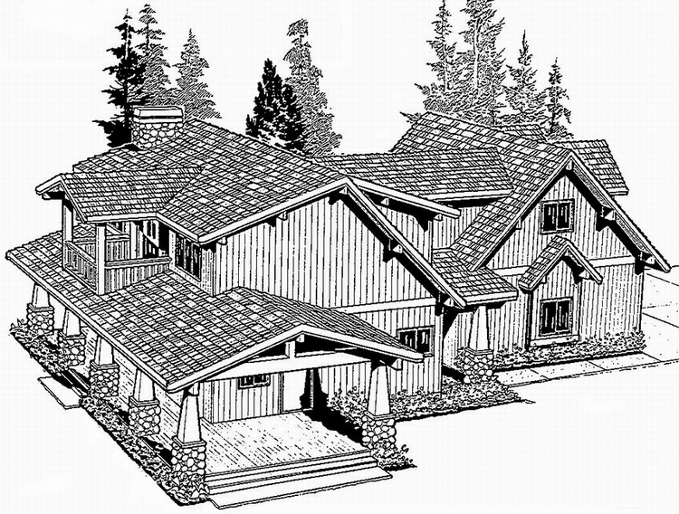 Pan Abode Cedar Country Ranch Plans