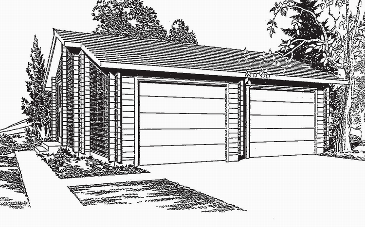 Pan Abode Cedar Garage Plans