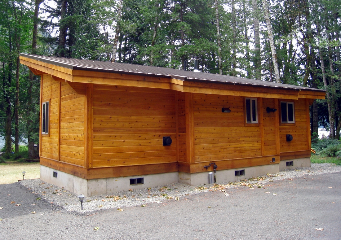 Pan abode cedar homes homemade ftempo for Vacation cabin kits